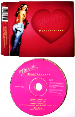 Mariah Carey - Heartbreaker (CD Single Pt 2) (VG/VG)